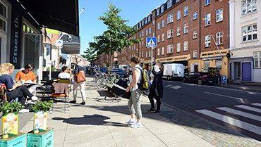 Tordenskoldsgade på Trøjborg