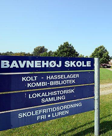 Bavnehøj skole i Hasselager