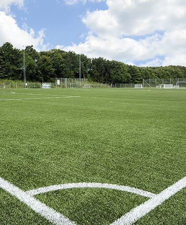 fodboldbane i Hinnerup