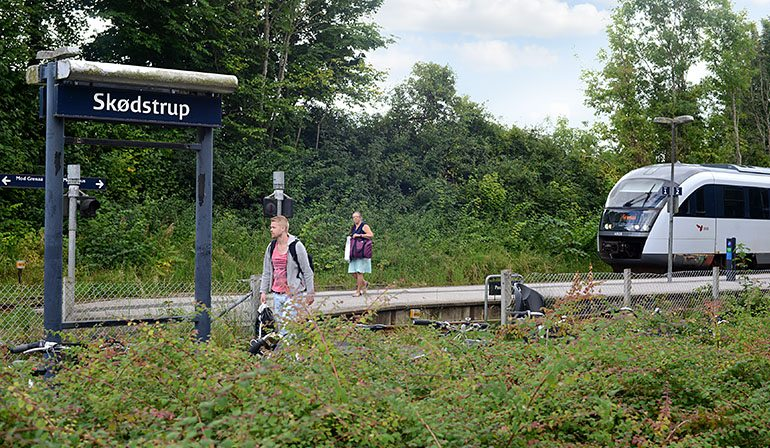 Skødstrup station